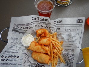 Alaska Fish and Chips