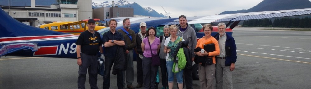 Our full crew before leaving Juneau